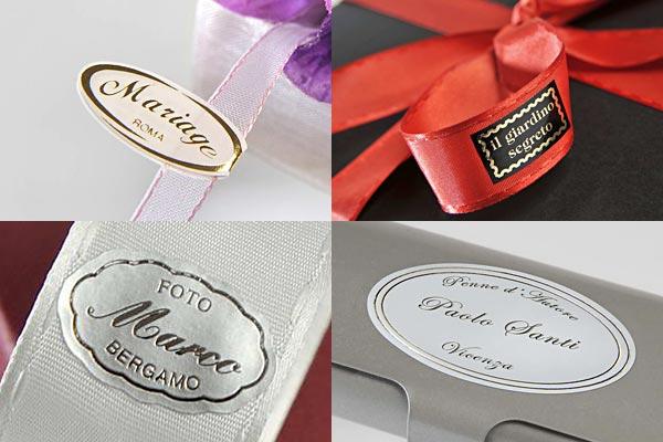 Favori Etikettando Stampa Etichette Adesive Personalizzate, Nastri  TC98